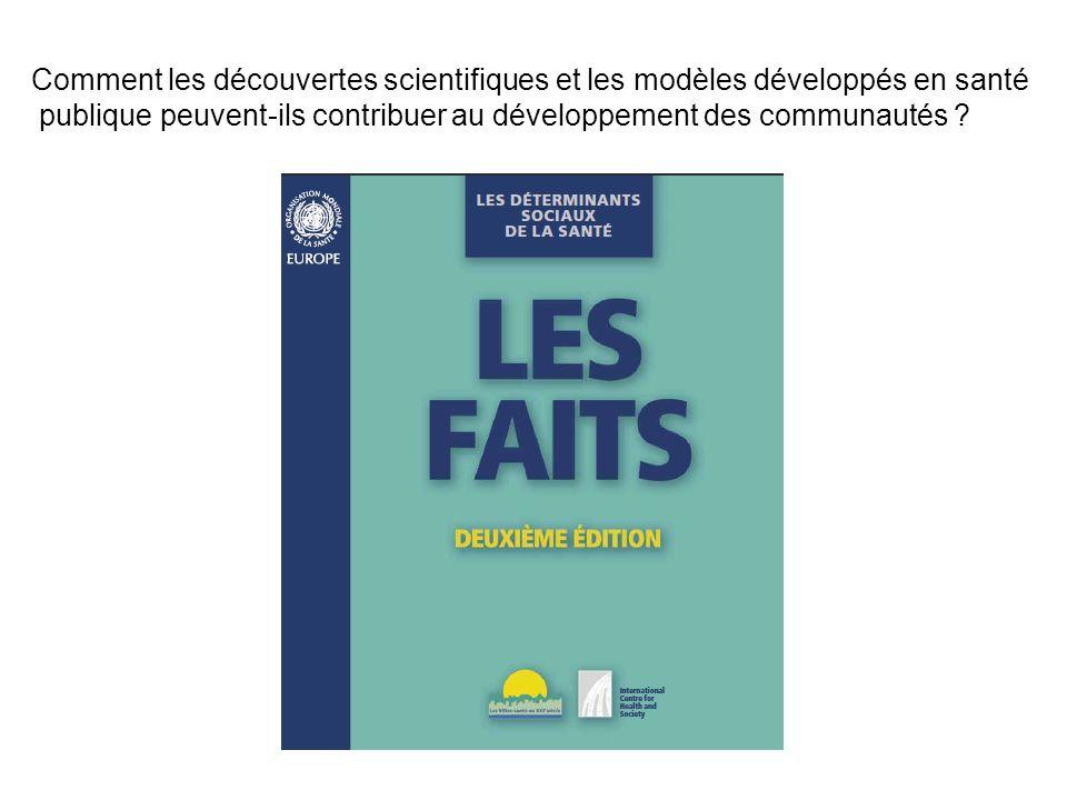 Comment les découvertes scientifiques et les modèles développés en santé