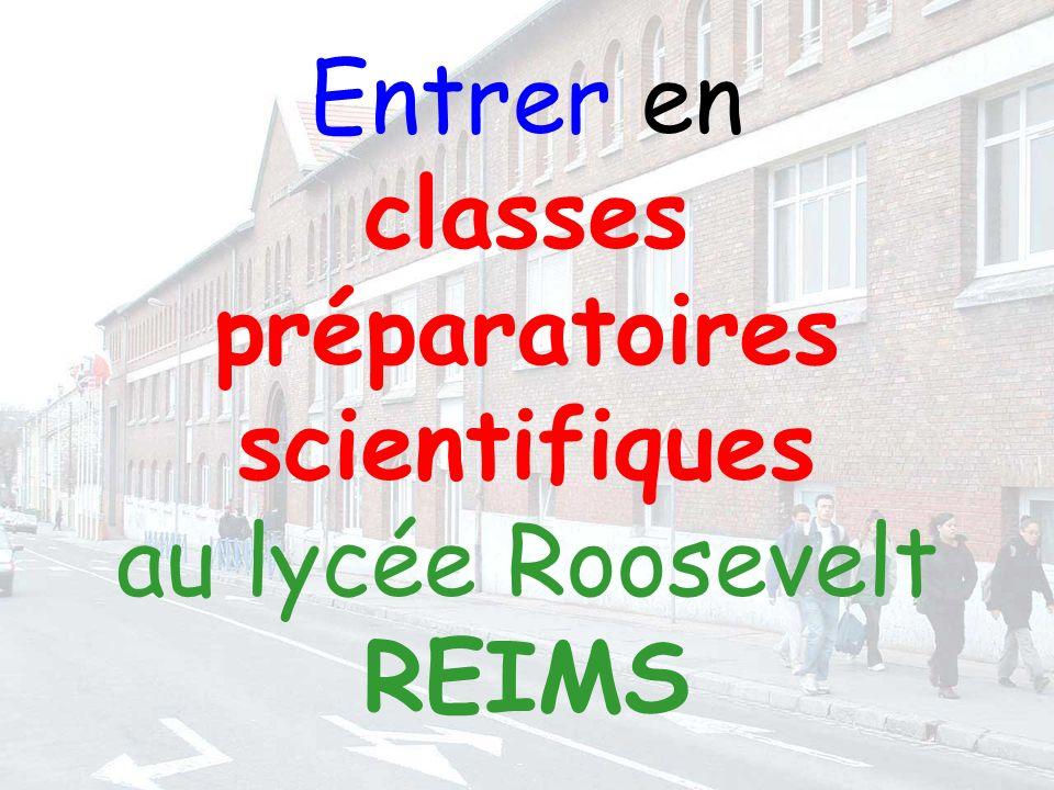 Entrer en classes préparatoires scientifiques au lycée Roosevelt