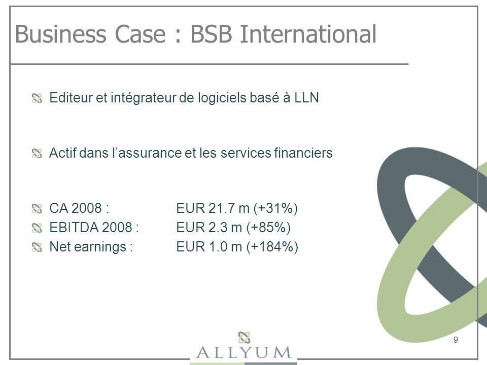 Business Case : BSB International