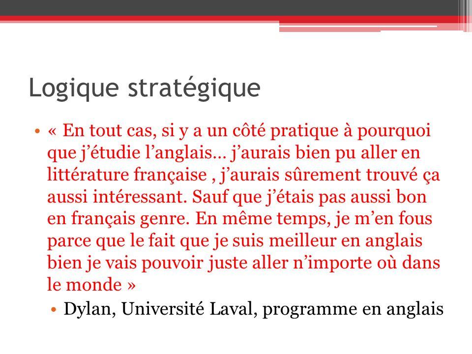 Logique stratégique