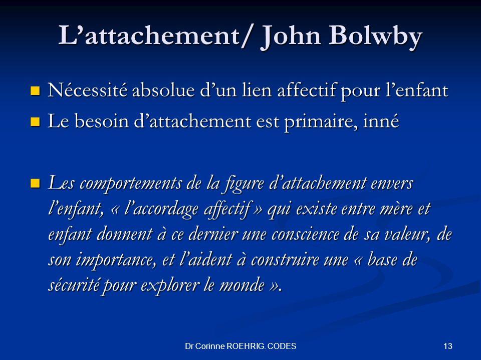 L'attachement/ John Bolwby