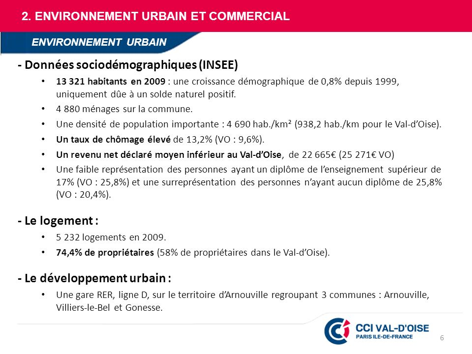 - Données sociodémographiques (INSEE)