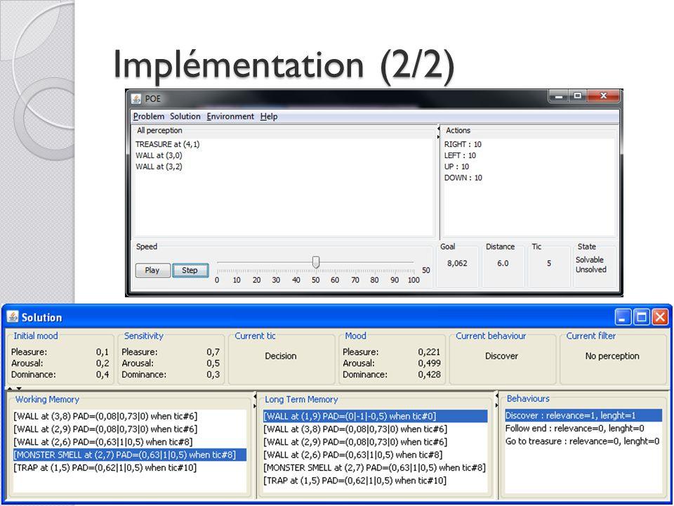 Implémentation (2/2)
