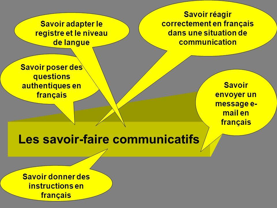 Les savoir-faire communicatifs