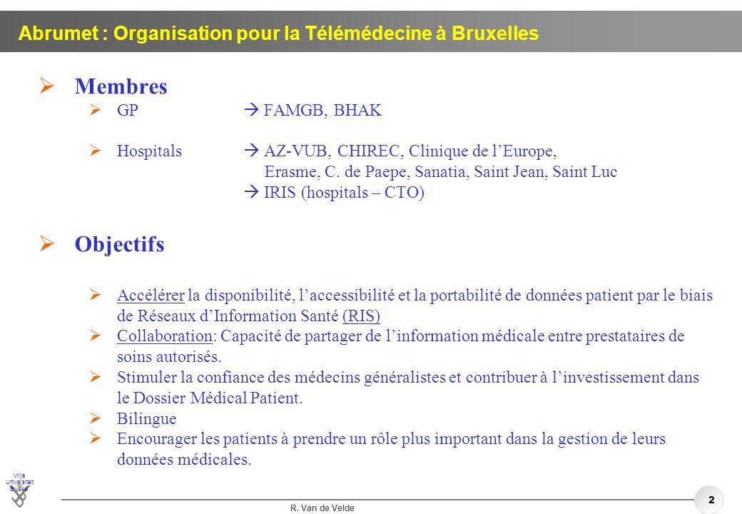 Abrumet : Organisation pour la Télémédecine à Bruxelles