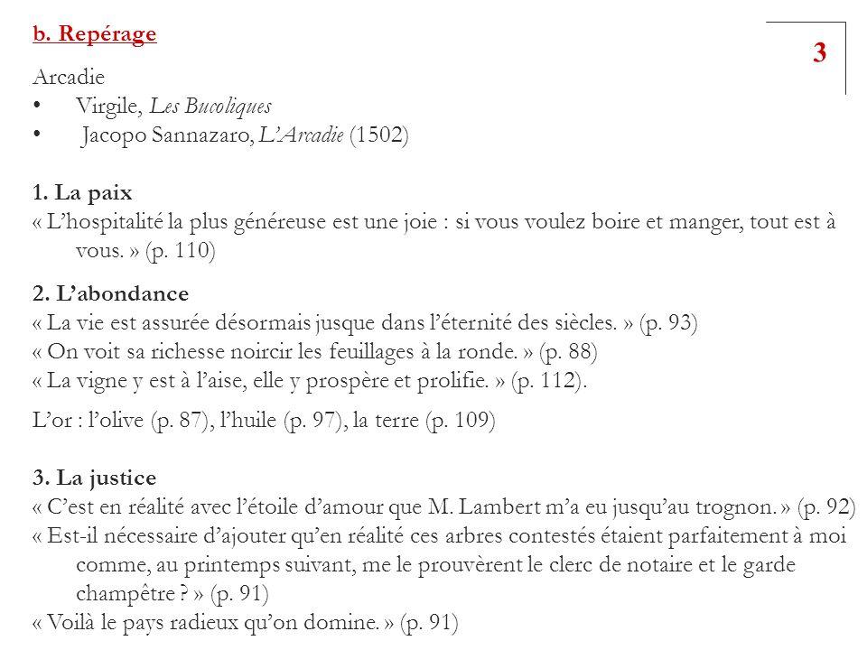 3 b. Repérage Arcadie Virgile, Les Bucoliques