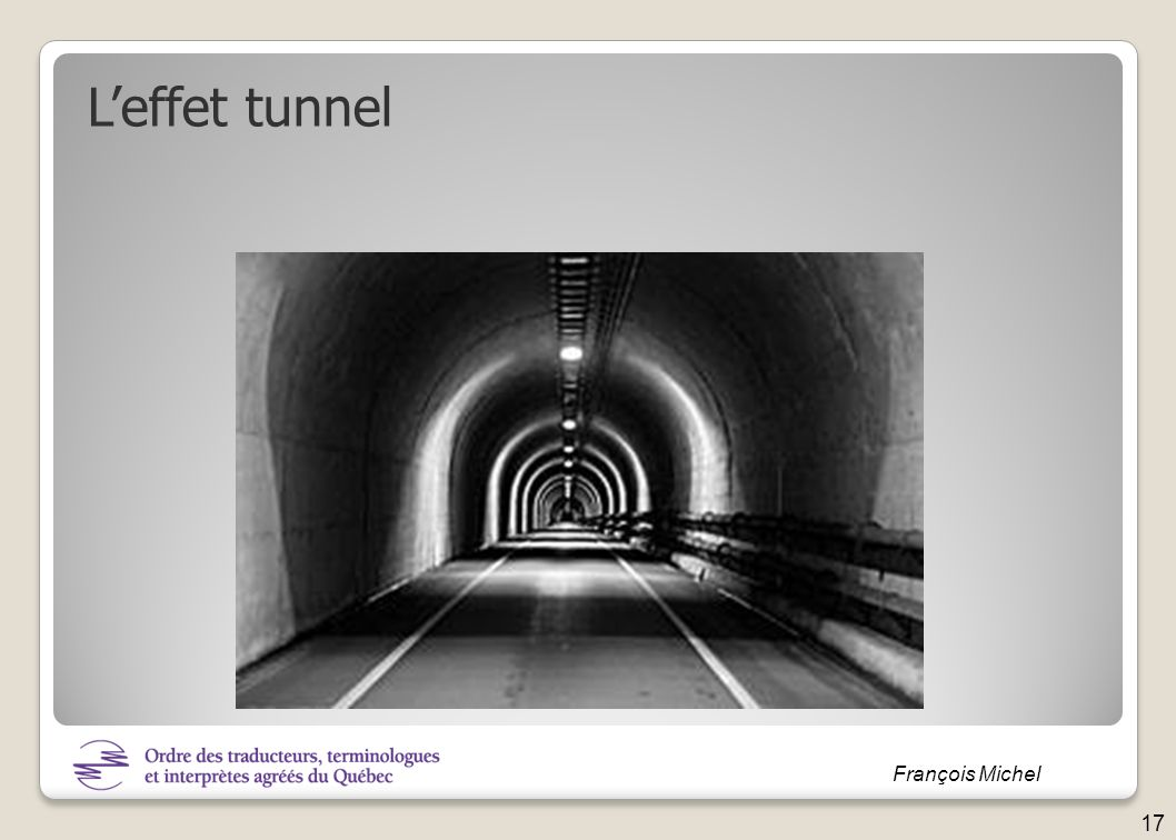 L'effet tunnel