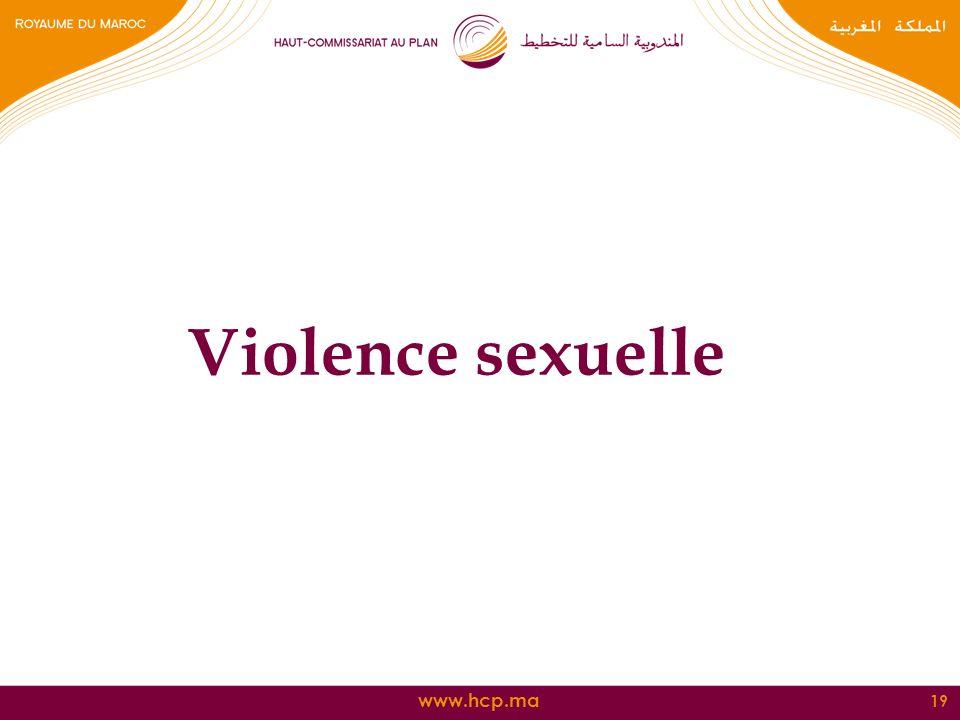 Violence sexuelle