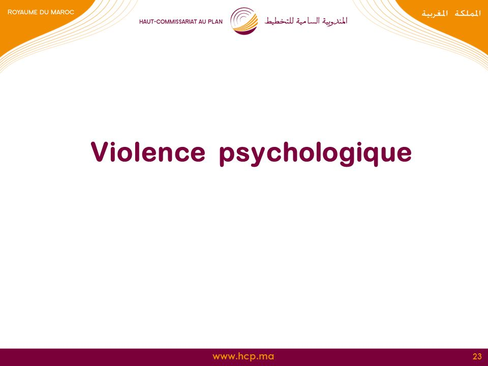 Violence psychologique