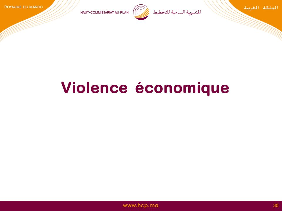 Violence économique