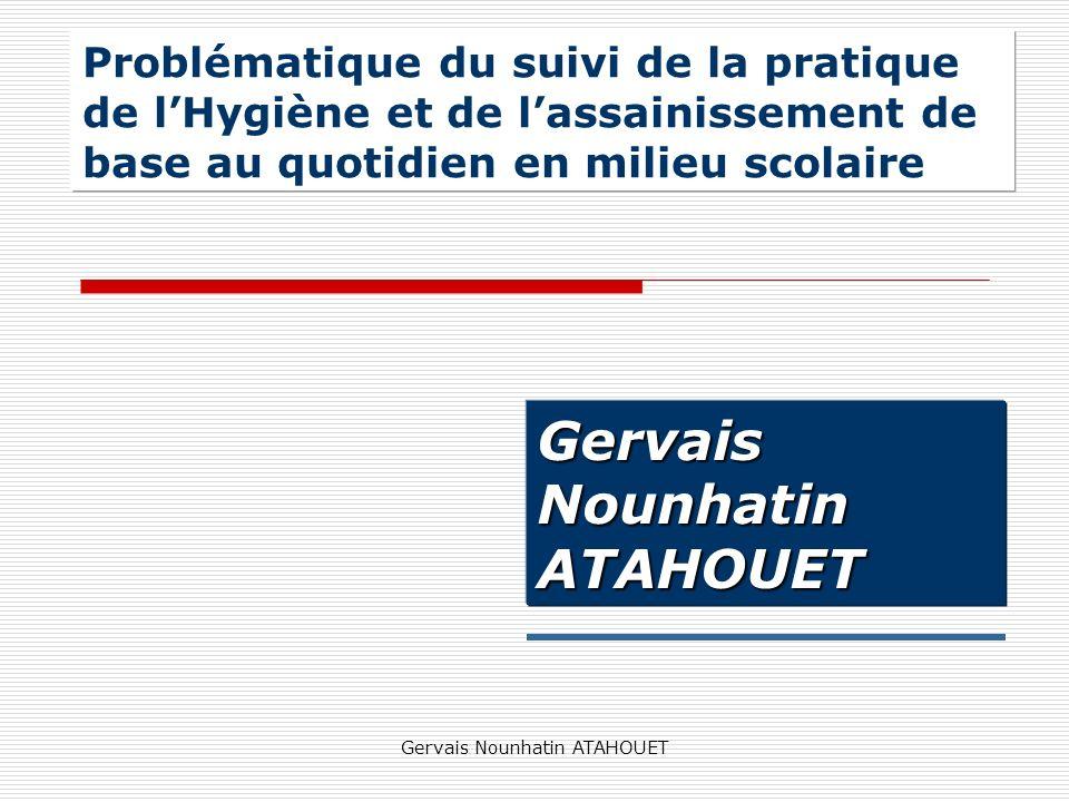 Gervais Nounhatin ATAHOUET