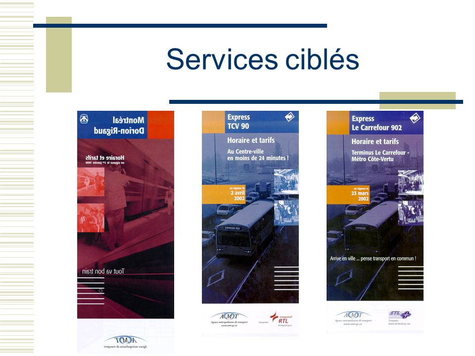 Services ciblés