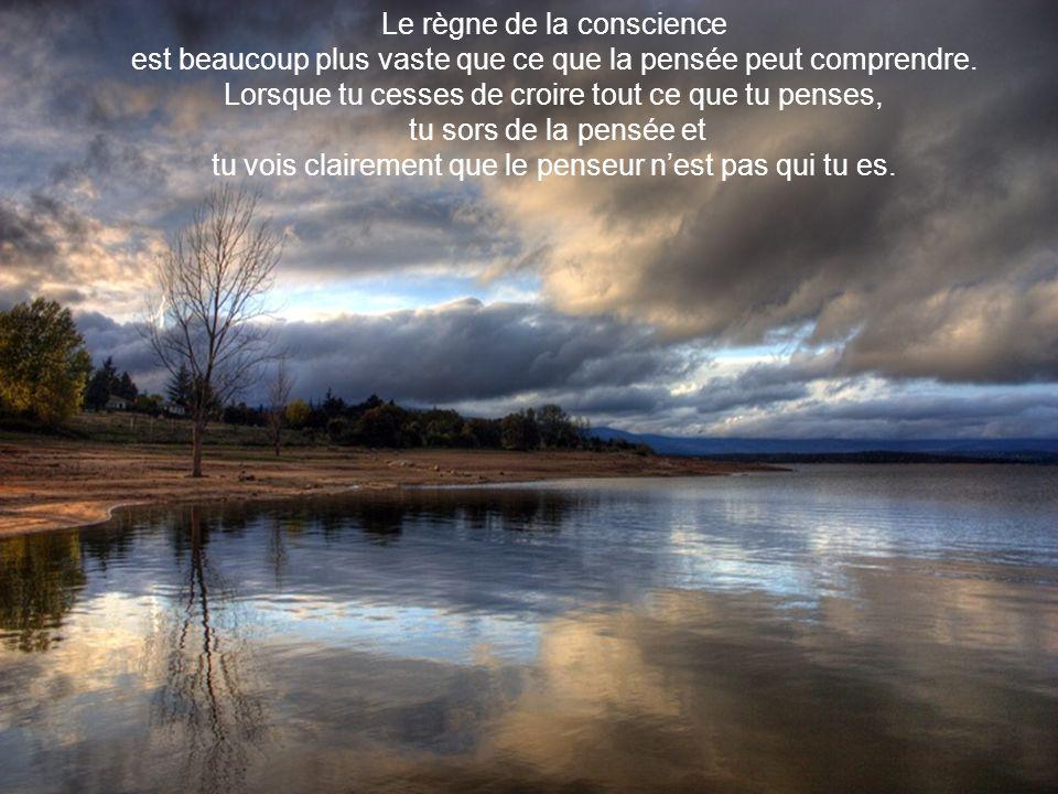Le règne de la conscience
