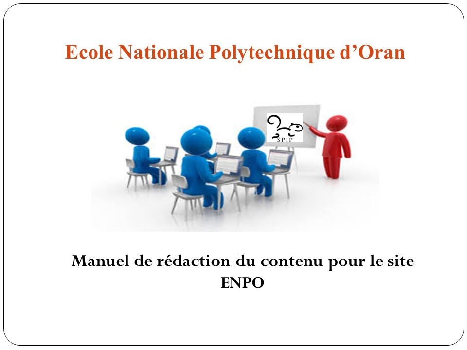 Ecole Nationale Polytechnique d'Oran