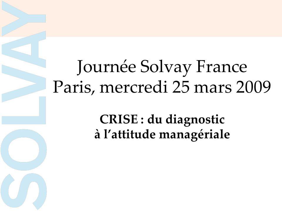 Journée Solvay France Paris, mercredi 25 mars 2009