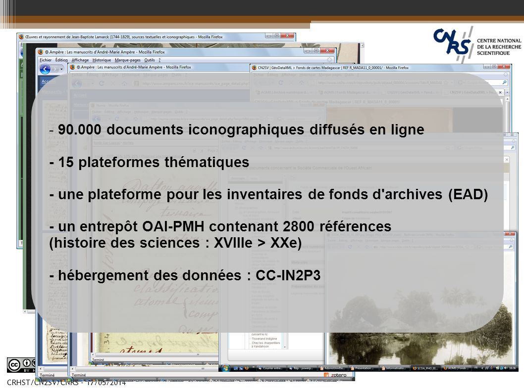 - 90.000 documents iconographiques diffusés en ligne