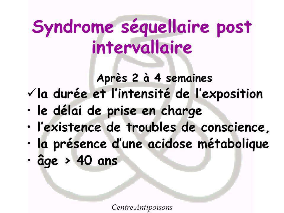 Syndrome séquellaire post intervallaire