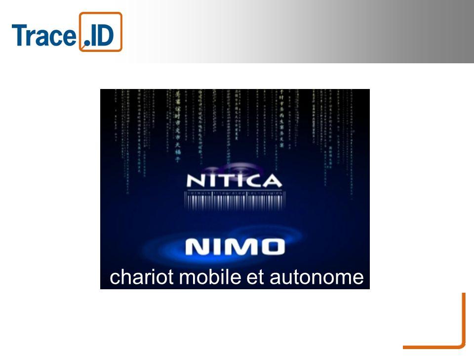 chariot mobile et autonome véritable concentré de gestion complète d entrepôt.