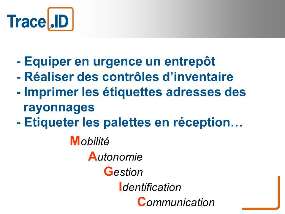 Mobilité Autonomie Gestion Identification Communication