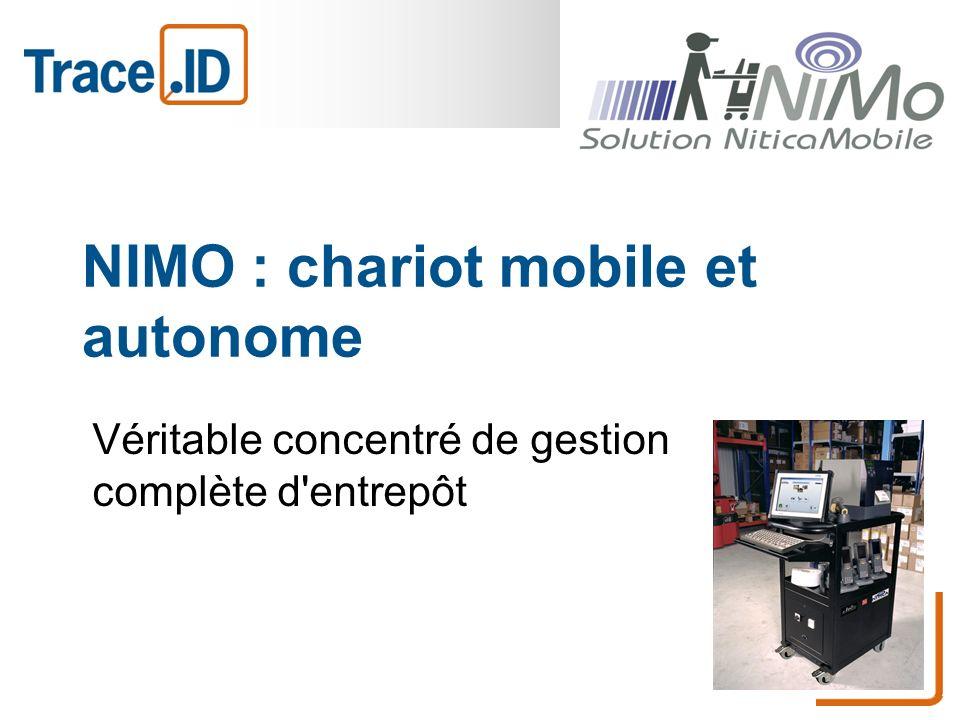 NIMO : chariot mobile et autonome