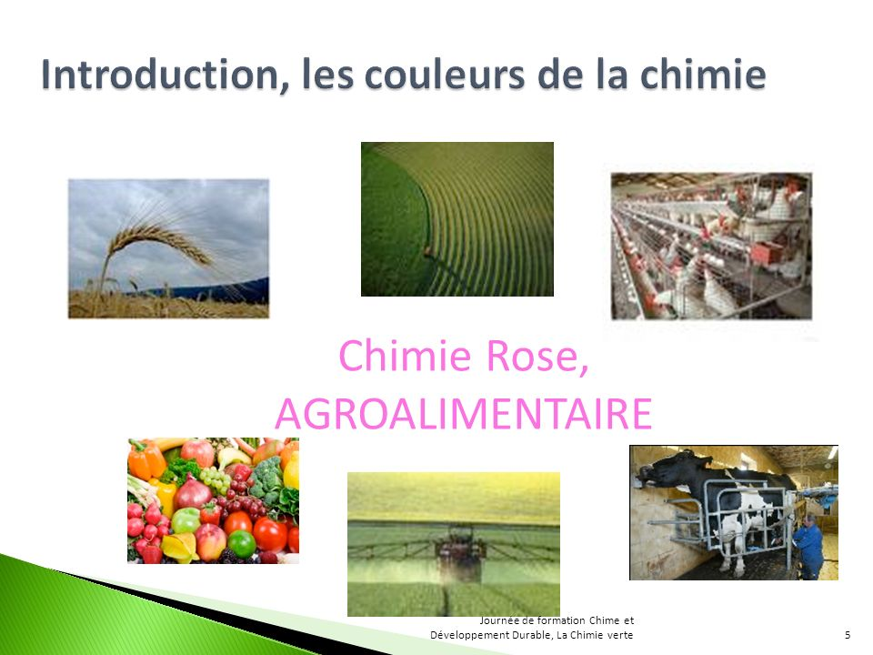 Chimie Rose, AGROALIMENTAIRE