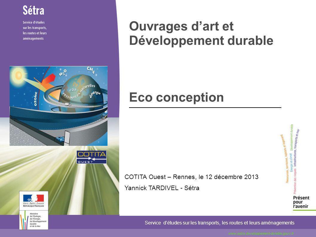 Ouvrages d'art et Développement durable Eco conception
