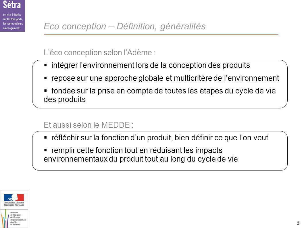 Eco conception – Définition, généralités
