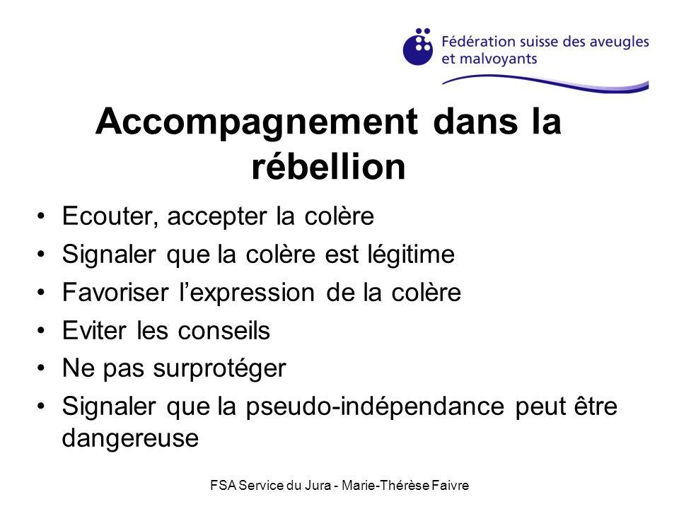 Accompagnement dans la rébellion