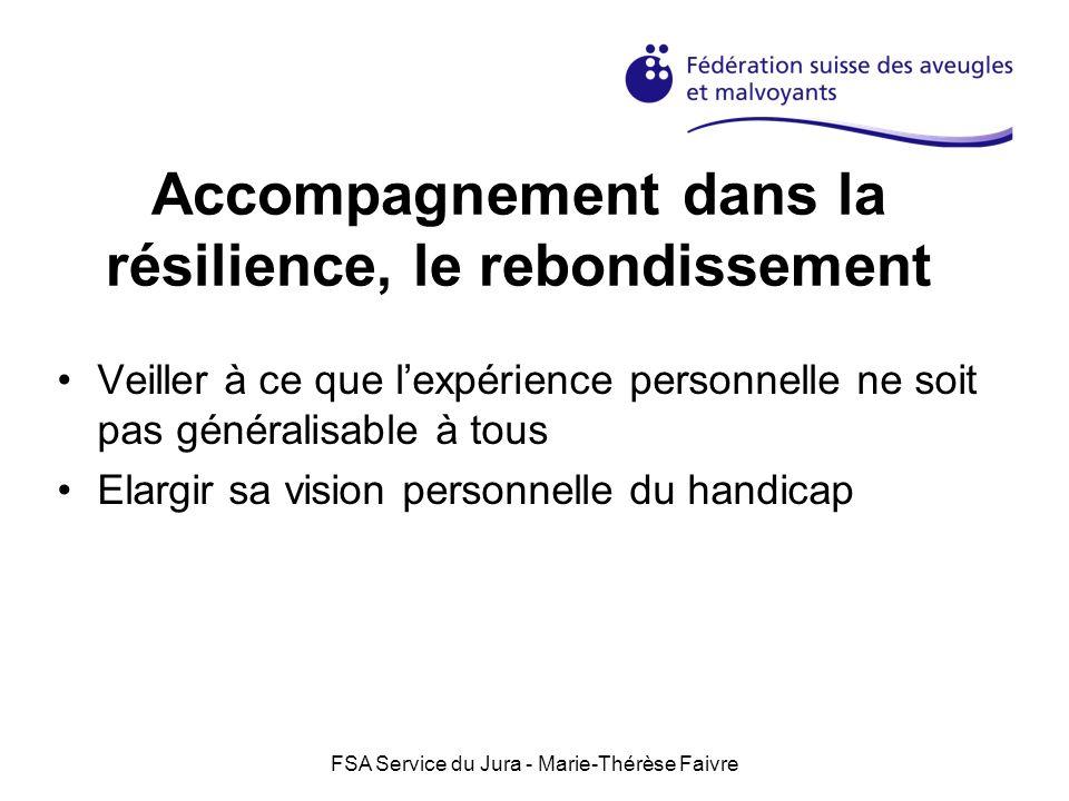 Accompagnement dans la résilience, le rebondissement