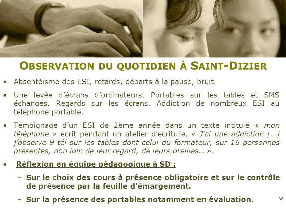 Observation du quotidien à Saint-Dizier