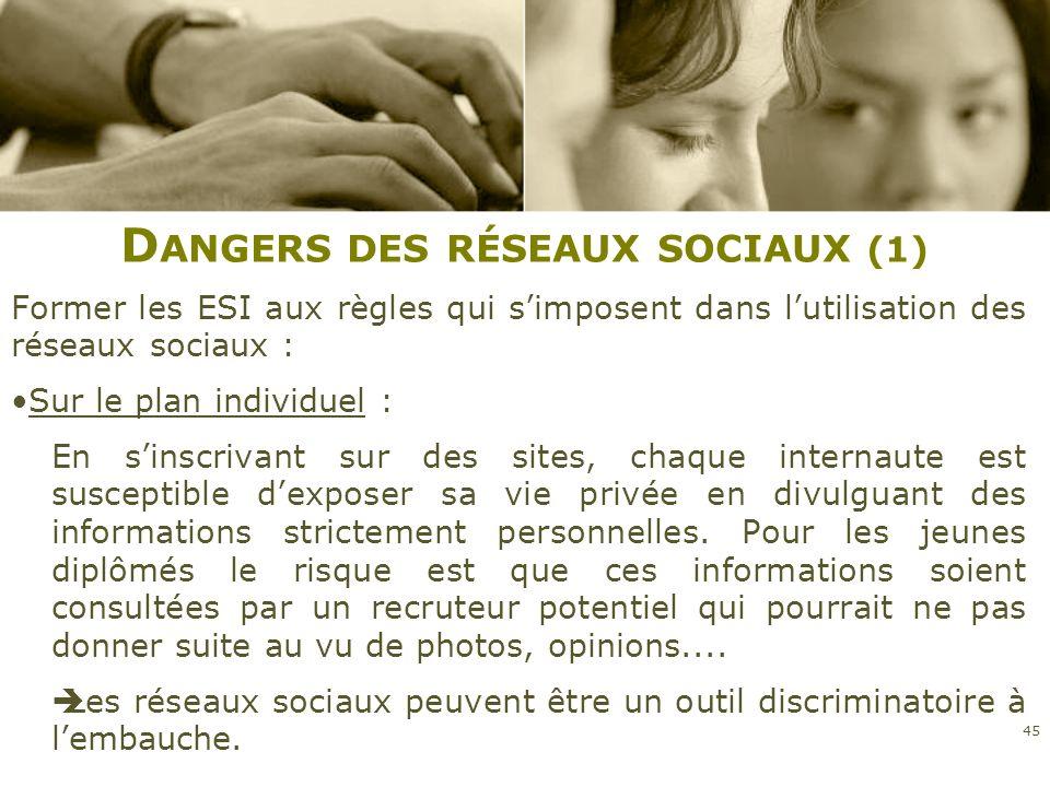 Dangers des réseaux sociaux (1)
