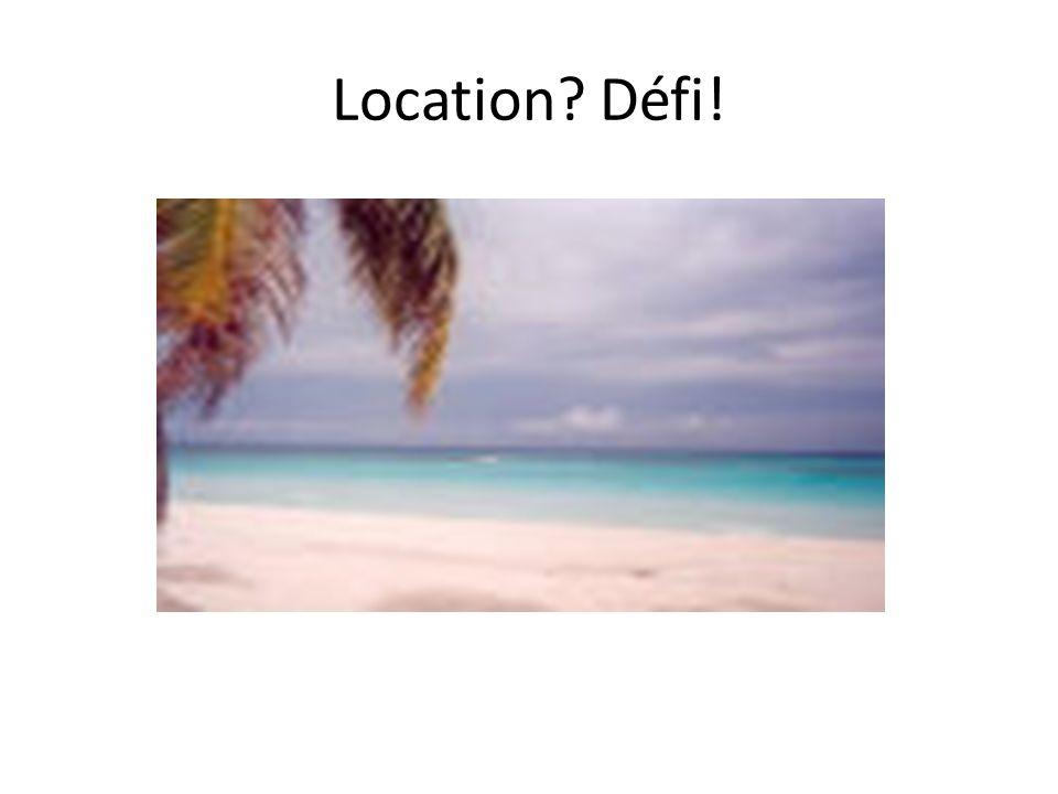 Location Défi!