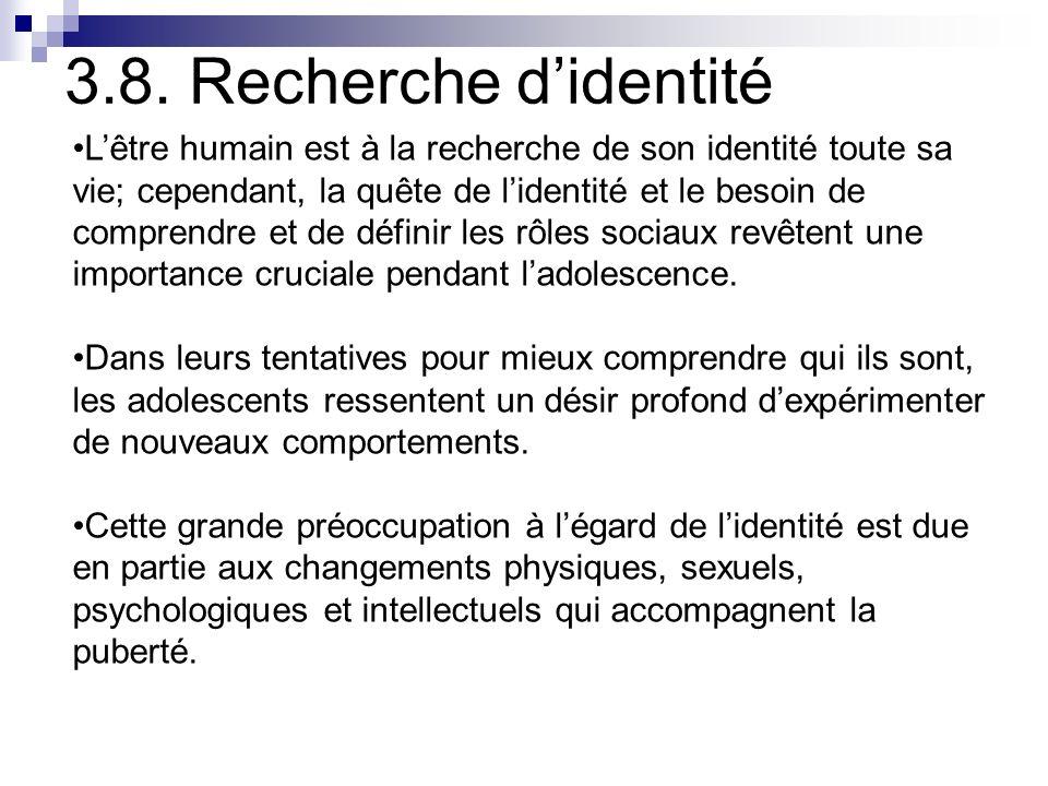 3.8. Recherche d'identité