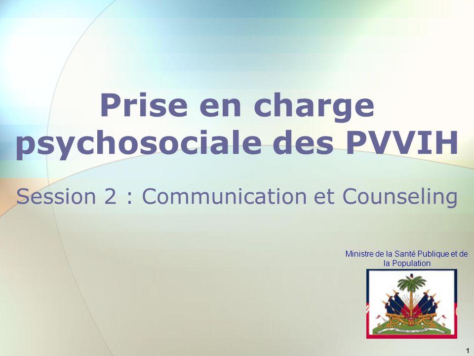Prise en charge psychosociale des PVVIH