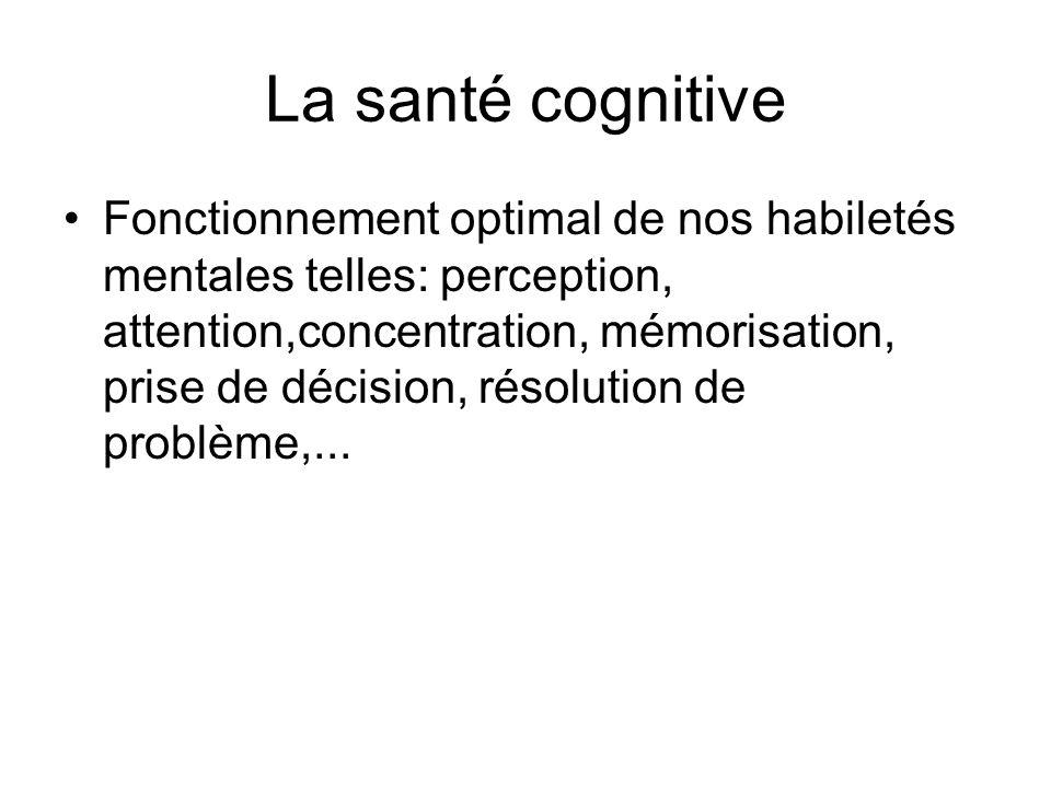 La santé cognitive