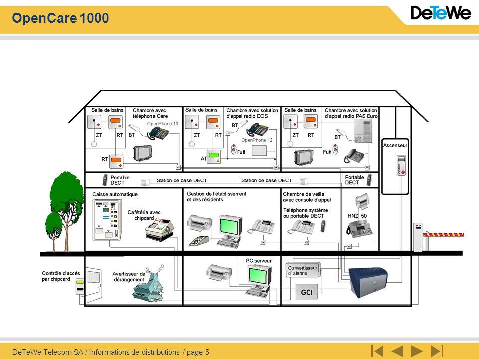 DeTeWe Telecom SA / Informations de distributions / page 5