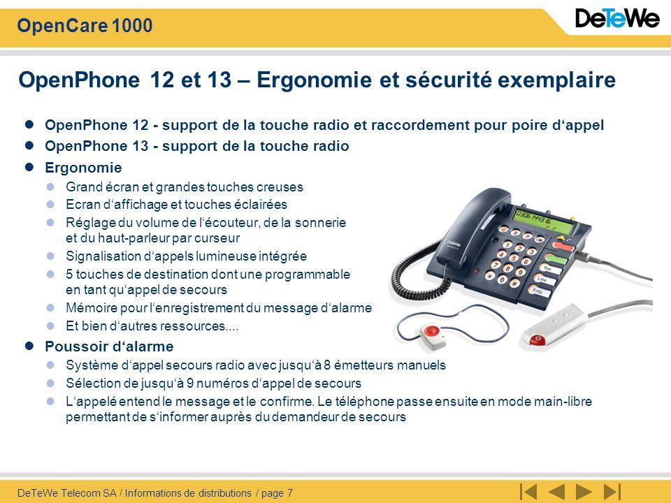 OpenPhone 12 et 13 – Ergonomie et sécurité exemplaire