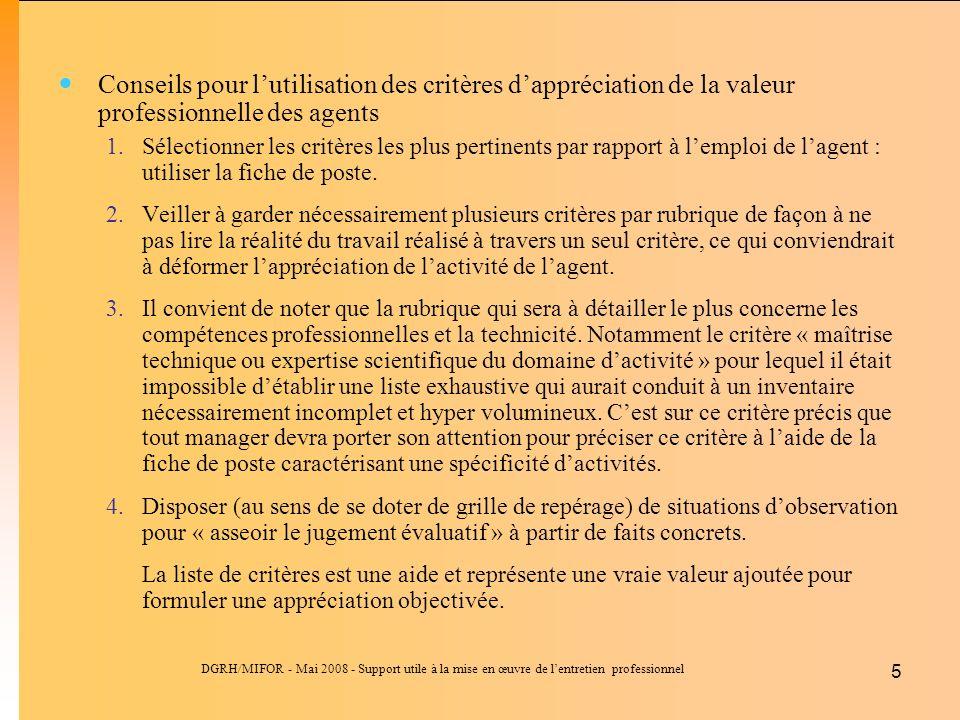 Guide du manager pour l entretien professionnel ppt - Fiche de poste vendeuse pret a porter ...