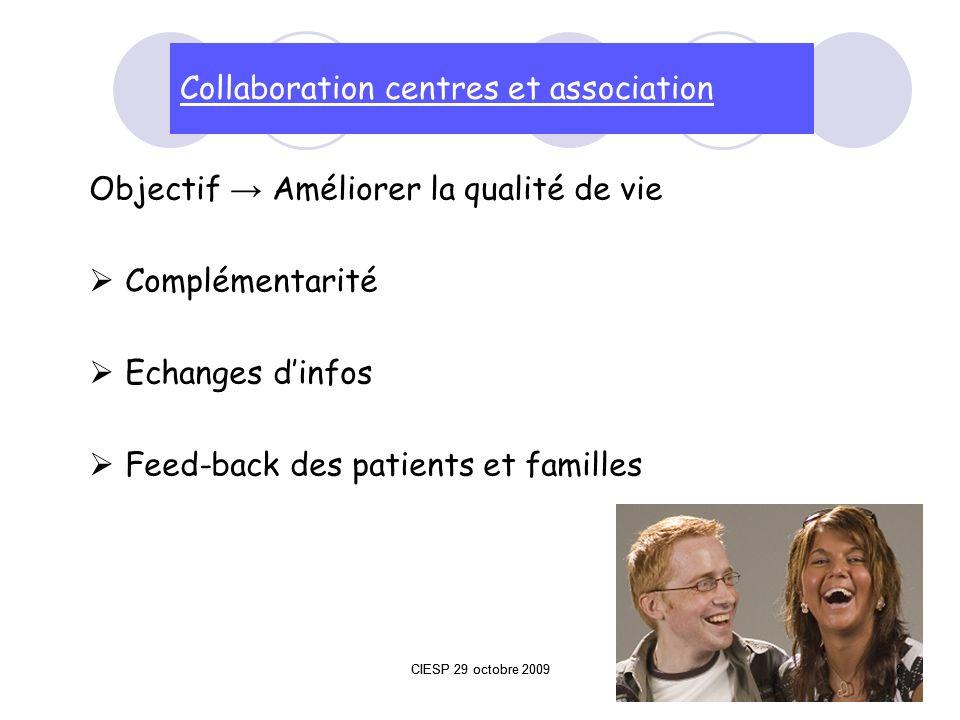 Collaboration centres et association