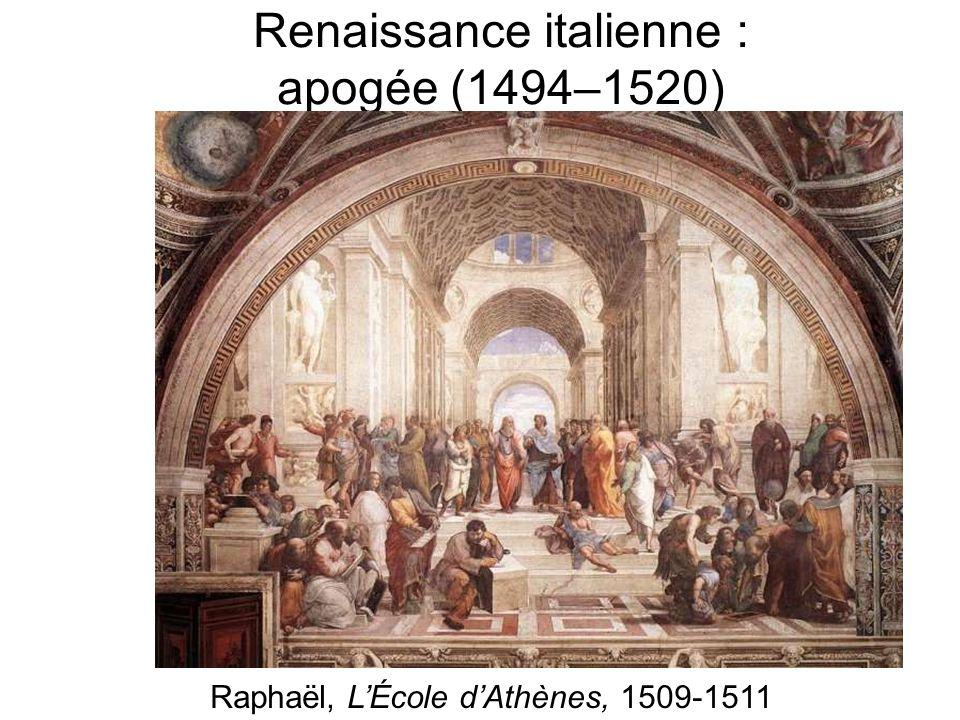 Renaissance italienne : apogée (1494–1520)