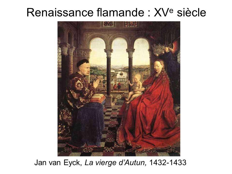 Renaissance flamande : XVe siècle
