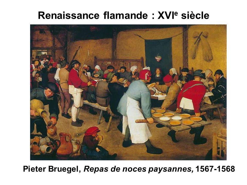 Renaissance flamande : XVIe siècle