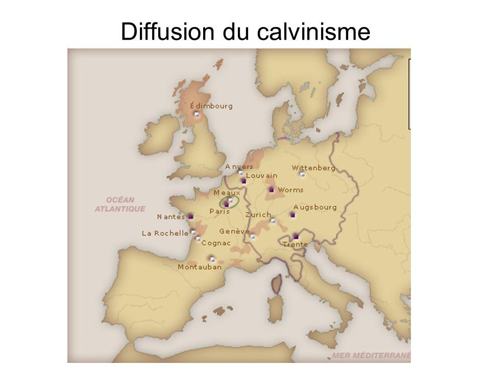 Diffusion du calvinisme