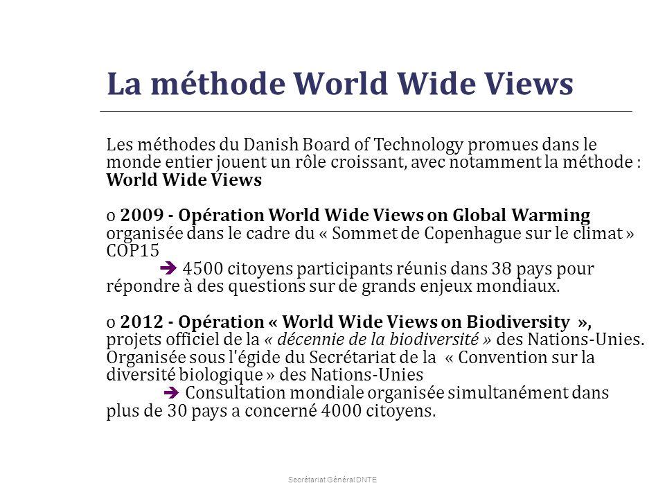 La méthode World Wide Views