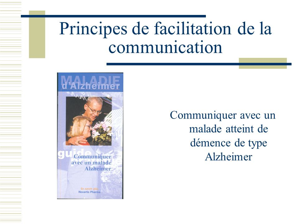 Principes de facilitation de la communication