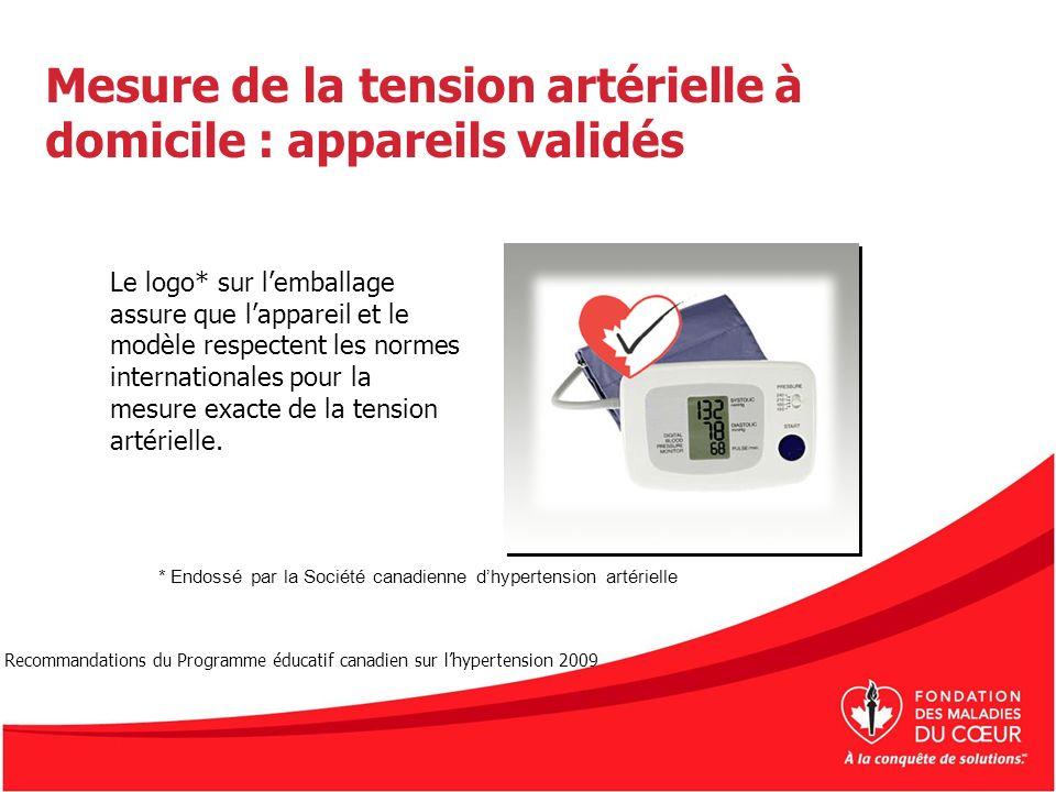 Mesure de la tension artérielle à domicile : appareils validés