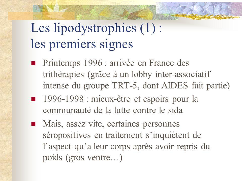 Les lipodystrophies (1) : les premiers signes