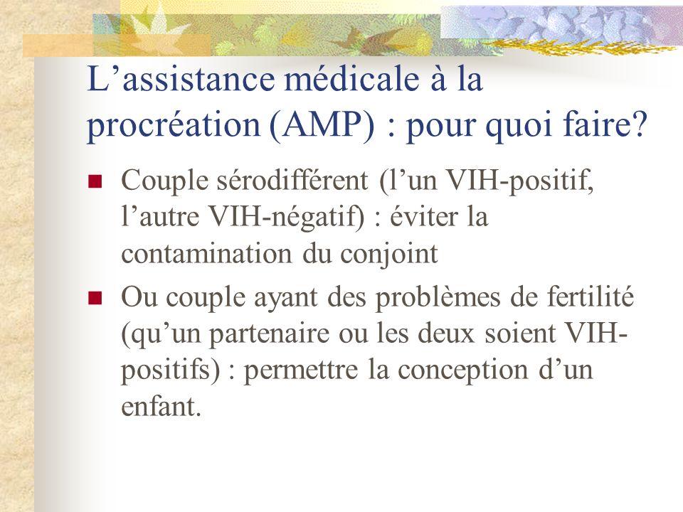 L'assistance médicale à la procréation (AMP) : pour quoi faire