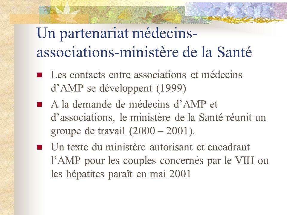 Un partenariat médecins-associations-ministère de la Santé