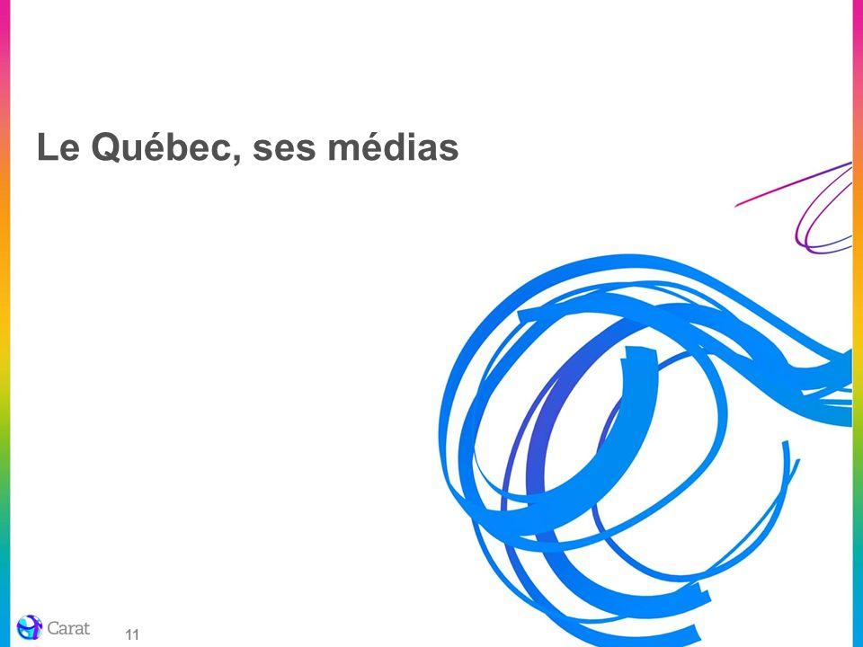 Le Québec, ses médias